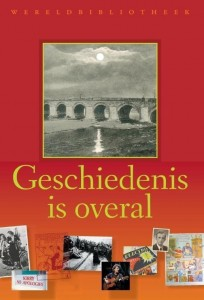 geschiedenis is overal coverb